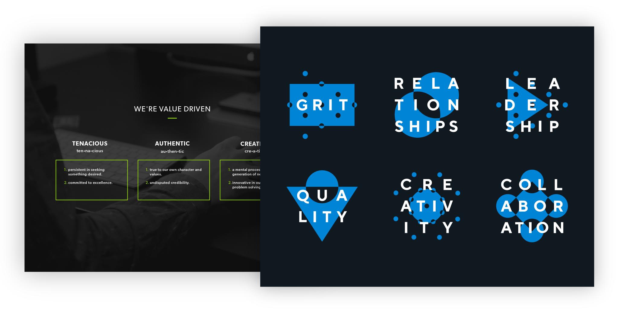 Tiller values before and after rebranding